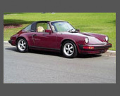 1988-1989 — 1984 Porsche 911 Targa — Purchased when Vi sold the RX7 and took over the 944. What can you say - it's a 911. Sold it after only a year because 1) I thought I might kill myself with it and 2) I couldn't pass up the chance to own another Alfa Spider.