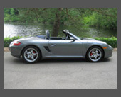 2010-present — 2005 Porsche Boxster S — Oh, my - what a car! 280HP, 3100 pounds, mid-engine, 6-speed, 0-62MPH in 5.2 seconds, amazing handling, stellar brakes, fantastic seats, lots of comfort features and gadgets, Bose sound. Whoof!