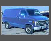 1979-1980 — 1978 Chevy Van — Bought a year old to replace the Toyota pickup with something more comfortable and enclosed.  Had a 350ci V8 and automatic.  Was just too big, though, for every-day driving.  Traded in on the VW pickup with a cap (which had a better ride than the Toyota).